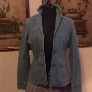 Gap faded jean blazer / jacket